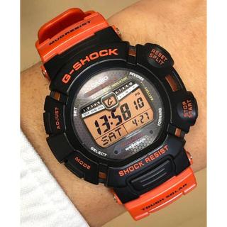 ジーショック(G-SHOCK)の限定G-SHOCK/GW-9010/レスキューオレンジ/電波ソーラー/マッドマン(腕時計(デジタル))