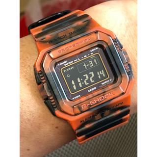 ジーショック(G-SHOCK)のG-SHOCK/ジャミン/G-5500/迷彩/マーブル/カモ/ソーラー/オレンジ(腕時計(デジタル))