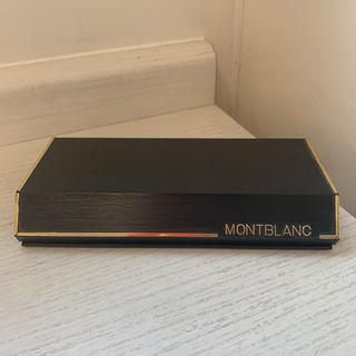 モンブラン(MONTBLANC)の【美品】montblank 万年筆&ボールペン(ペン/マーカー)