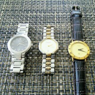 グッチ(Gucci)のグッチ 8900M 3000M ディオール DIOR メンズ 腕時計 電池新品(腕時計(アナログ))