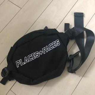 Supreme - 美品 PLACES+FACES ショルダーバッグ ウエストバッグ ブラック