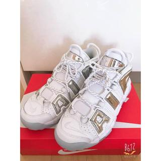 NIKE - AIR MORE UPTEMPO モアテン 白×シルバー