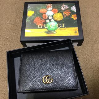 グッチ(Gucci)のGUCCI プチマーモント 二つ折り財布 カードケース(財布)