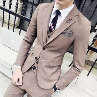 セットアップ 無地 スーツメンズ 紳士 スーツジャケット 着痩せzb385