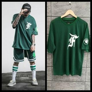 フィアオブゴッド(FEAR OF GOD)のfear of god Celtics メッシュTシャツ fog f.o.g(Tシャツ/カットソー(半袖/袖なし))