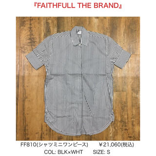 Cher Shore☆FAITHFULL THE BRANDストライプワンピース