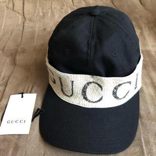 グッチ(Gucci)のgucci  キャップ ヘアバンド(キャップ)