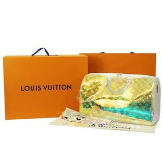 LOUIS VUITTON - ルイヴィトン キーポルバンドリエール50 ヴァージルアブロー レインボー