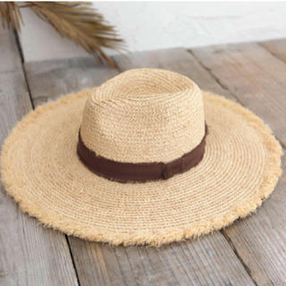 ルームサンマルロクコンテンポラリー(room306 CONTEMPORARY)の※新品未使用※ Summer Wide Hat(麦わら帽子/ストローハット)