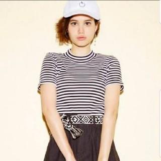 エックスガール(X-girl)のエックスガール 半袖Tシャツ ナイロンTシャツ (Tシャツ(半袖/袖なし))