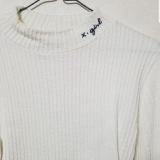 X-girl - エックスガール ハイネックTシャツ