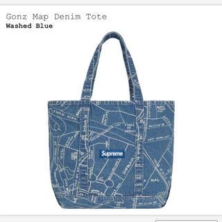 Supreme - 送料込みSupreme Gonz Map Denim Tote