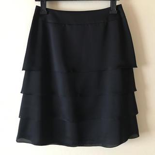 インディヴィ(INDIVI)のインディヴィ 膝丈スカート9号(ひざ丈スカート)