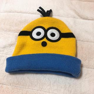 ユニバーサルスタジオジャパン(USJ)のミニオン ニット帽 USJ正規品(ニット帽/ビーニー)