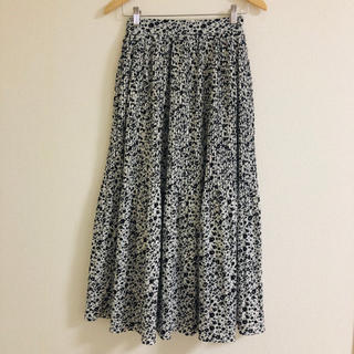 シマムラ(しまむら)のしまむら ◎ 新品未使用タグ付き ◎ 消しプリーツロングスカート(ロングスカート)