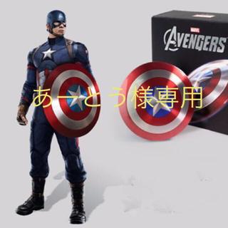 マーベル(MARVEL)のアベンジャーズ  キャプテンアメリカの盾モチーフ 充電器(バッテリー/充電器)