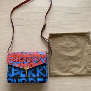 バーバリー(BURBERRY)の美品💕 Burberry バーバリー グラフィティ モノグラム バッグ(ショルダーバッグ)