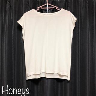 HONEYS - ハニーズ スリットシャツ カットソー
