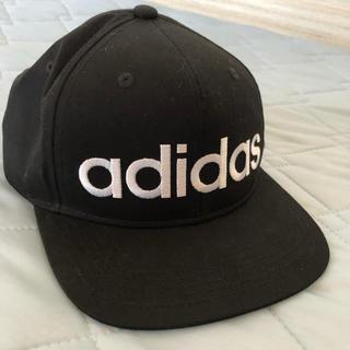 adidas - アディダス キャップ 白ロゴ