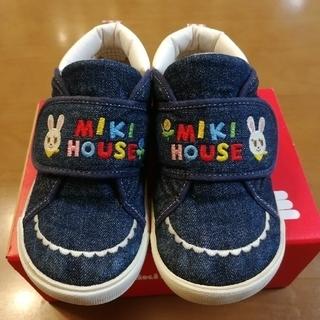 ミキハウス(mikihouse)の☆mikihouse☆16cm うさこデニムシューズ(その他)
