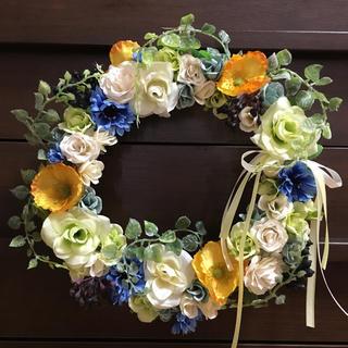お花のリース*June