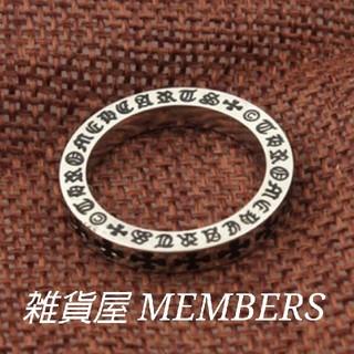 送料無料19号クロムシルバークロス十字架スペーサーリング指輪クロムハーツ好きに