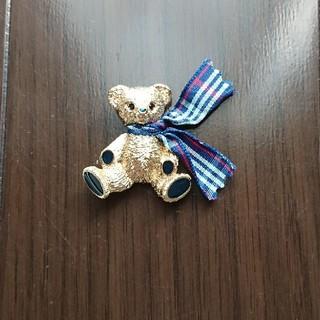 バーバリー(BURBERRY)のバーバリー ベア ブローチ クマ BURBERRY(ブローチ/コサージュ)