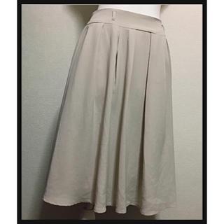 シマムラ(しまむら)の[Honeys]ギャザーフレアスカート 膝丈(ひざ丈スカート)