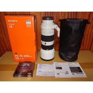 SONY - 70-200mm F4 SEL70200G ソニー sony レンズ 望遠