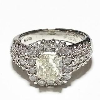 【お値下げ致しました!】ダイヤモンドリング  Pt900(リング(指輪))