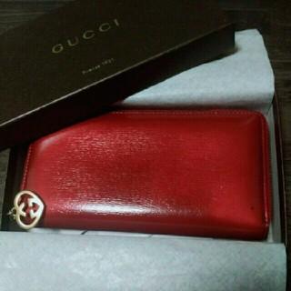 グッチ(Gucci)のGUCCI長財布ラウンドファスナー(財布)
