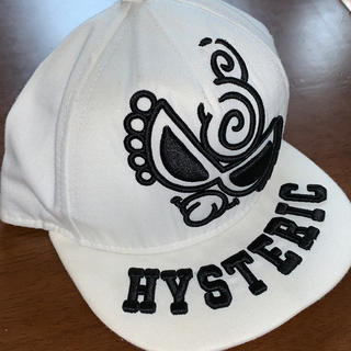 ヒステリックミニ(HYSTERIC MINI)のビッグフェイスキャップ サイズ50(帽子)