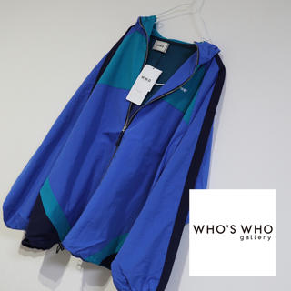 WHO'S WHO gallery - 新品 フーズフーギャラリー CRAFTWORK フード付きブルゾン ジャンパー