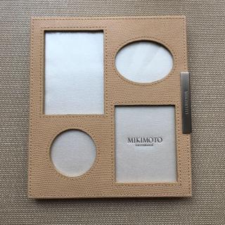 MIKIMOTO - ミキモト レザー写真立て