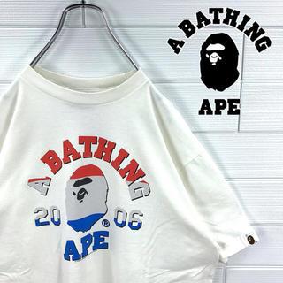 アベイシングエイプ(A BATHING APE)の☆激レア☆ ワールドカップ記念  Tシャツ アベイシングエイプ カレッジロゴ(Tシャツ/カットソー(半袖/袖なし))