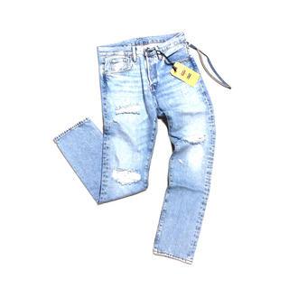 正規品 KITH × Levi's コラボデニムパンツ 501 ライトブルー