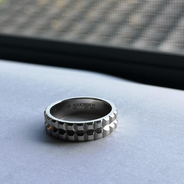 BOUCHERON(ブシュロン)のブシュロン ポワント ド ディアマン Pt950  SIZE 16号 メンズのアクセサリー(リング(指輪))の商品写真