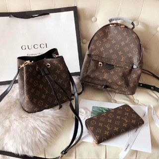 LOUIS VUITTON - Louis Vuitton  バックパック ハンドバッグ、財布、3セット