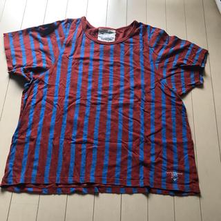 ゴートゥーハリウッド(GO TO HOLLYWOOD)のGO TO HOLLYWOOD  Tシャツ ビッグシルエット ストライプ(Tシャツ(半袖/袖なし))