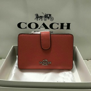 コーチ(COACH)のコーチ COACH 二つ折り財布F22977 (折り財布)