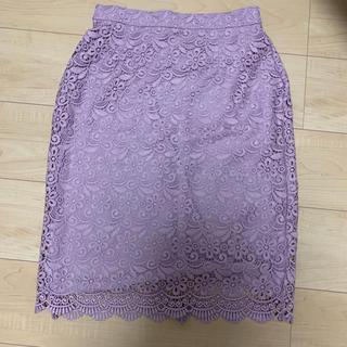 ユニクロ(UNIQLO)のUNIQLO レーススカート(ひざ丈スカート)