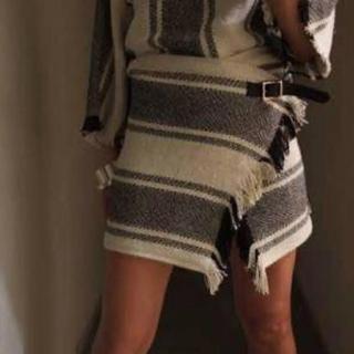 ★最終値下げ★fumika uchida★ラップスカート(ミニスカート)