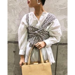 カスタネ(Kastane)の☆ 完売品 Kastane ジャガードリボンビスチェ(シャツ/ブラウス(半袖/袖なし))