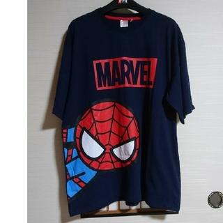マーベル(MARVEL)のメンズ大きいサイズマーベルTシャツ スパイダーマン 半袖トップス(5L)☆新品(Tシャツ/カットソー(半袖/袖なし))