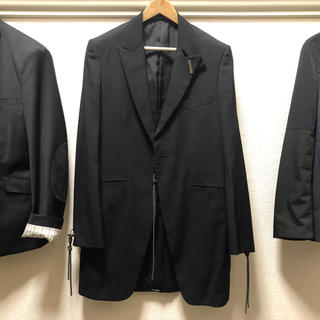 Yohji Yamamoto - yohji yamamoto pour homme jacket ギャバ