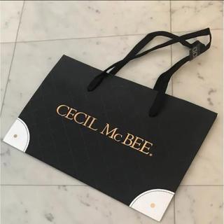 セシルマクビー(CECIL McBEE)のセシルマクビー 限定ショッパー(ショップ袋)