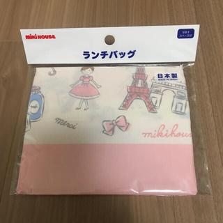 ミキハウス(mikihouse)のランチバック ミキハウス リーナちゃん(ランチボックス巾着)