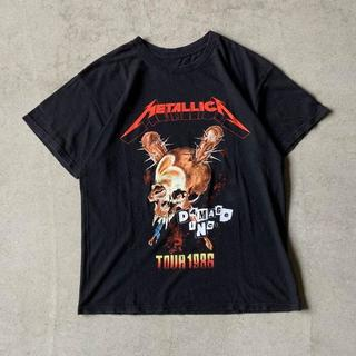 """METALLICA メタリカ """"Damage Inc."""" ツアー Tシャツ 黒(Tシャツ/カットソー(半袖/袖なし))"""
