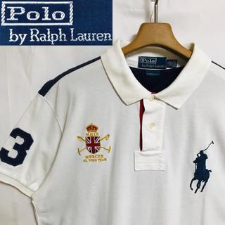 ポロラルフローレン(POLO RALPH LAUREN)のレア!ビックサイズ!Polo Ralph Laurenビックポニー配色ポロシャツ(ポロシャツ)