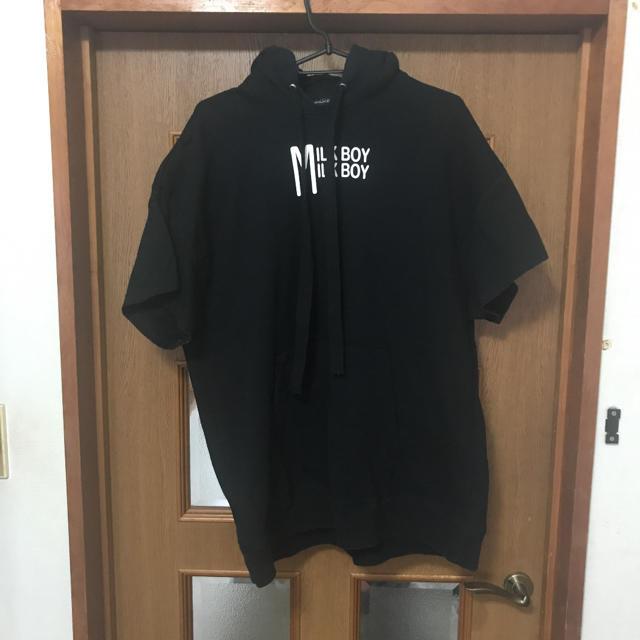 MILKBOY(ミルクボーイ)のMILKBOY 半袖パーカー フリーサイズ レディースのトップス(パーカー)の商品写真